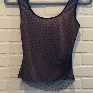 Tops - Lace netted tank
